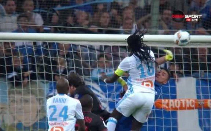 Олимпик Марсилия - Ница 1:0 /първо полувреме/