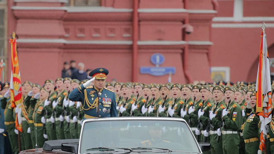 Военният парад на Червения площад по случай Деня на победата в Русия
