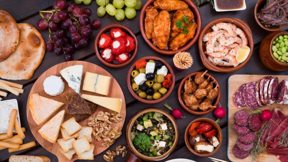 Храната като удоволствие за всички сетива