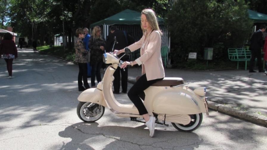 Вижте първия български електрически скутер