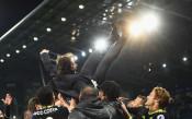 Неистовата радост в Челси след спечелената титла<strong> източник: Gulliver/GettyImages</strong>