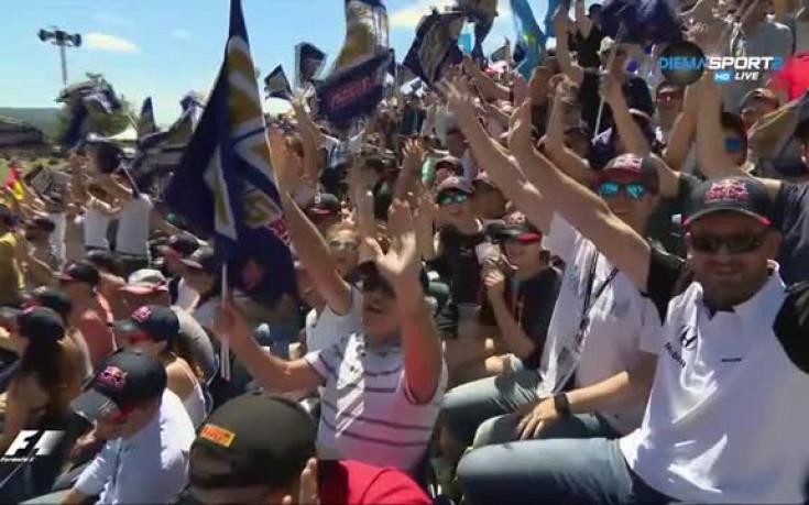 Феновете в Испания се бориха за фланелки на Ф1