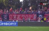 Футболисти и фенове на ЦСКА празнуваха успеха над Черно море