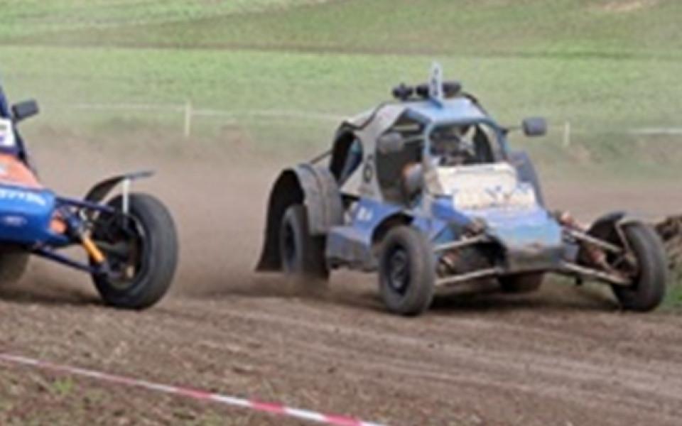 Инцидент помрачи втория кръг на шампионата по автокрос край Търговище