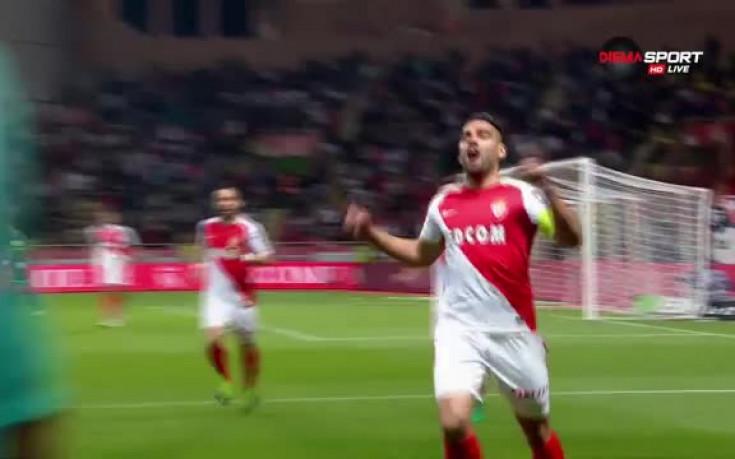 Монако тръгна по пътя към титлата с ранен гол