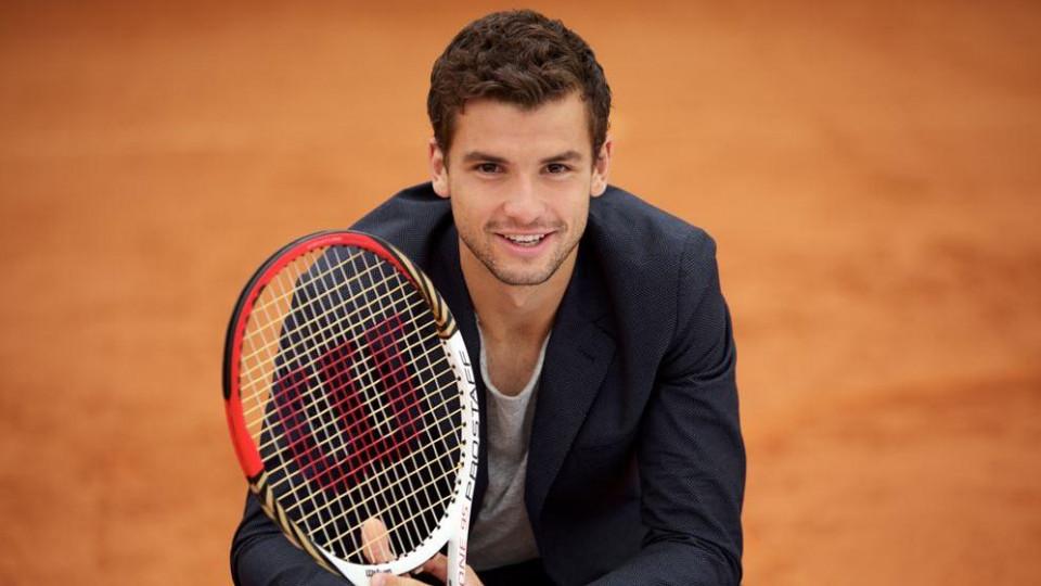 Тенис звездата на България на 27 - честит рожден ден, Гришо!