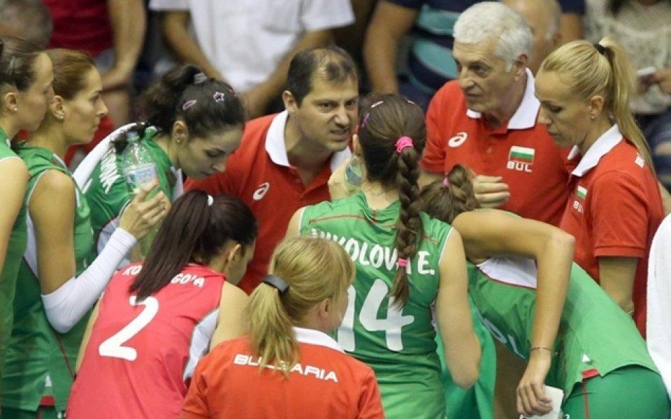 Волейболистките заминаха за контроли в Сърбия
