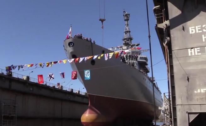 Вижте най-новия руски шпионски кораб