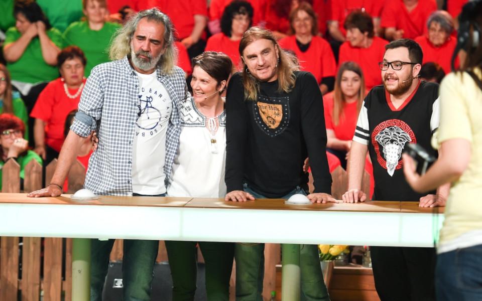 Ненчо Балабанов, Коцето Калки и Таня Богомилова в паметна надпревара в