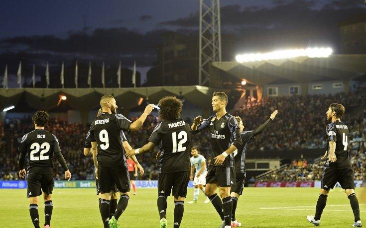 Реал продължава головата серия