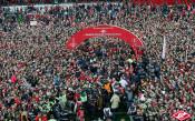 Спартак Москва получи титлата си<strong> източник: <a href=http://spartak.com>spartak.com</a></strong>