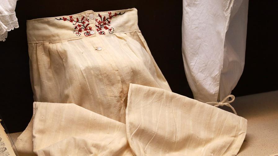 Как е изглеждало бельото на българката преди 100 години (снимки)