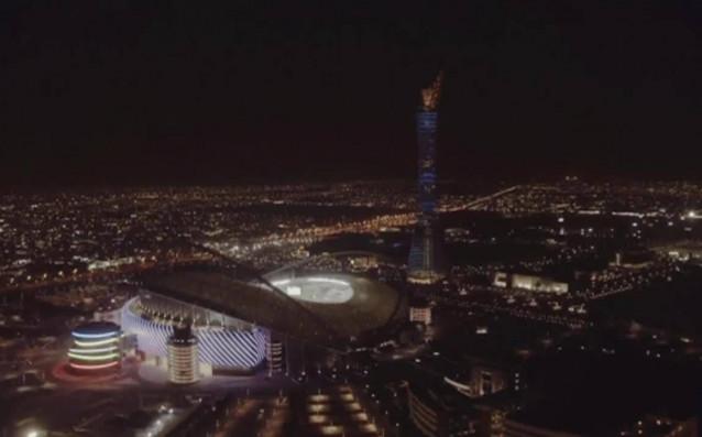 Първият стадион в Катар за Мондиал 2022 бе октрит<strong> източник: Нова Броудкастинг Груп</strong>