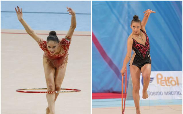 Невяна Владинова и Катрин Тасева<strong> източник: facebook.com/BulgarianRhythmicGymastic</strong>