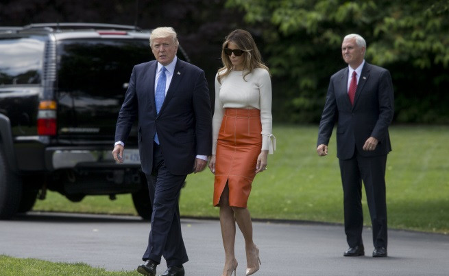 Тръмп на първа задгранична обиколка