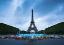 В падока на Формула Е под Айфеловата кула