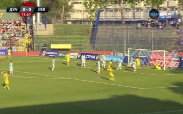 Краев порази вратата на Дунав за девети гол през сезона