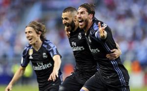 Мадрид побелява още през нощта