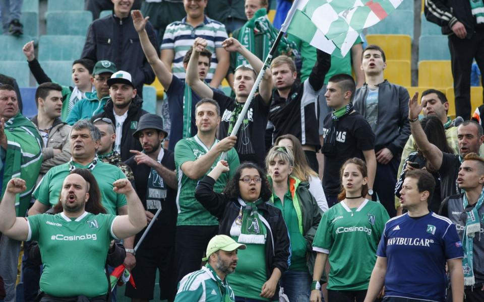 Финалът за Купата на България в снимки
