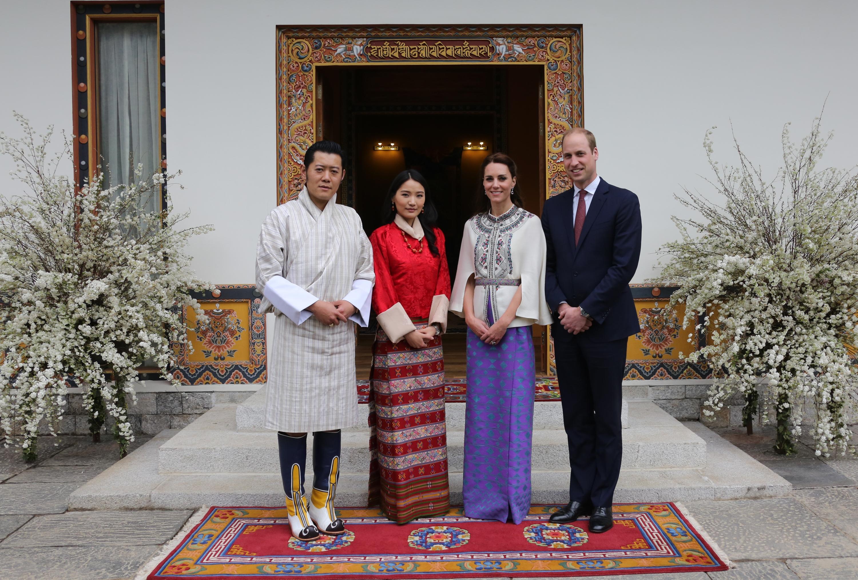 Джигме Хесар Намгиал Вангчук,кралят на Бутан