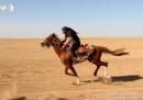 Състезанието с арабски коне в Сирия