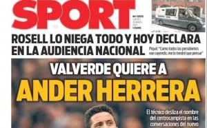 Новият треньор на Барселона иска футболист от Манчестър Юнайтед