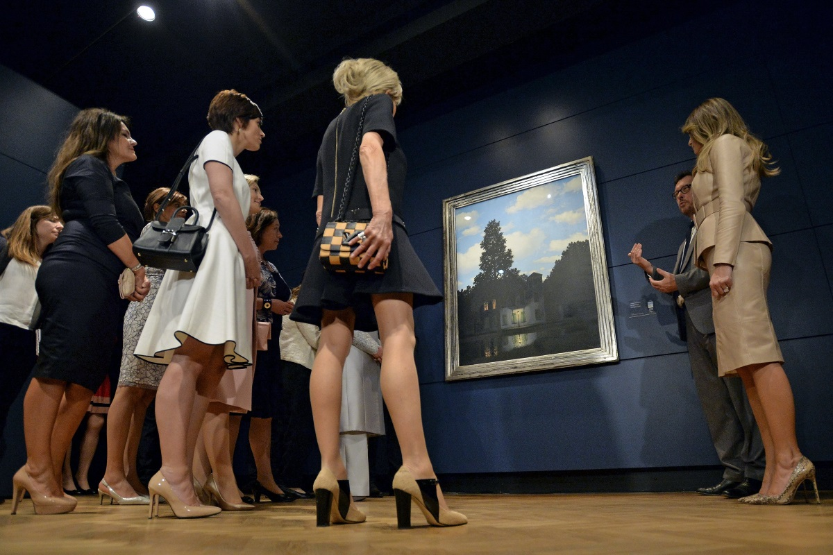 Срещата на върха на НАТО в Брюксел, на която първите дами имаха редица събития