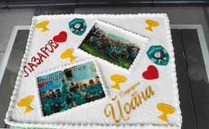 Торта с 6-те купи на Лудогорец хапнаха за Първи юни децата на Разград