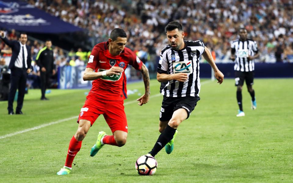Анже измъкна точката срещу Бордо на старта на Лига 1