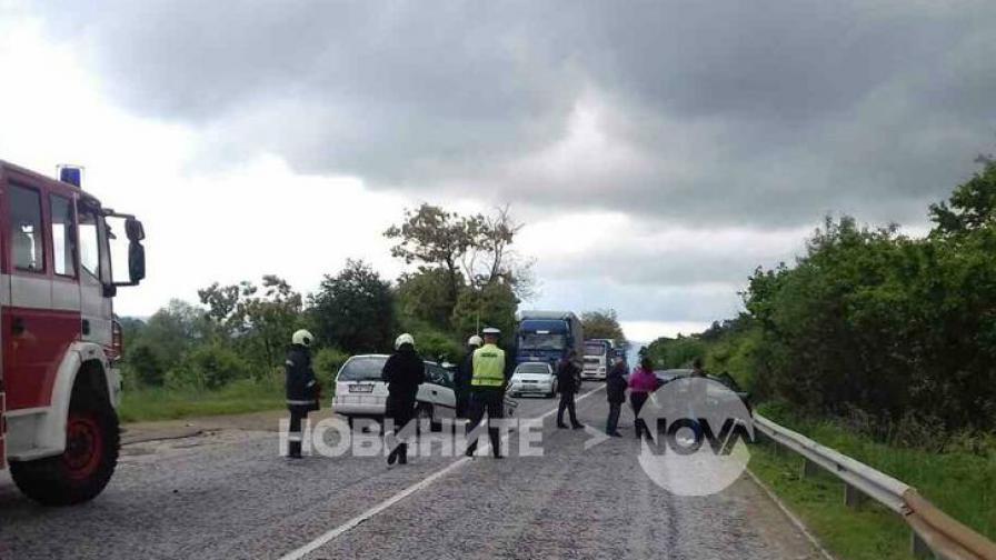 Инцидентът на пътя между София и Ванра