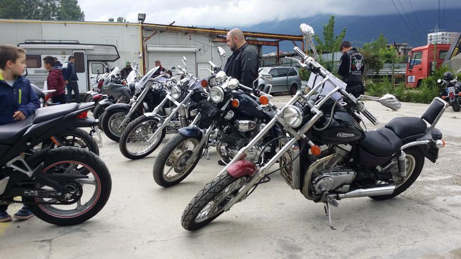 Мотобитакът в София - новата обител на моторджиите