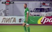 Хашев върна гол за Нефтохимик срещу Славия