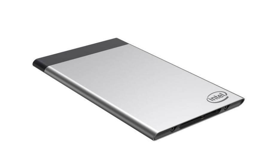 Intel показа компютър с размерите на кредитна карта