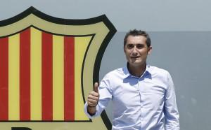 Ернесто Валверде влезе в историята на Барселона