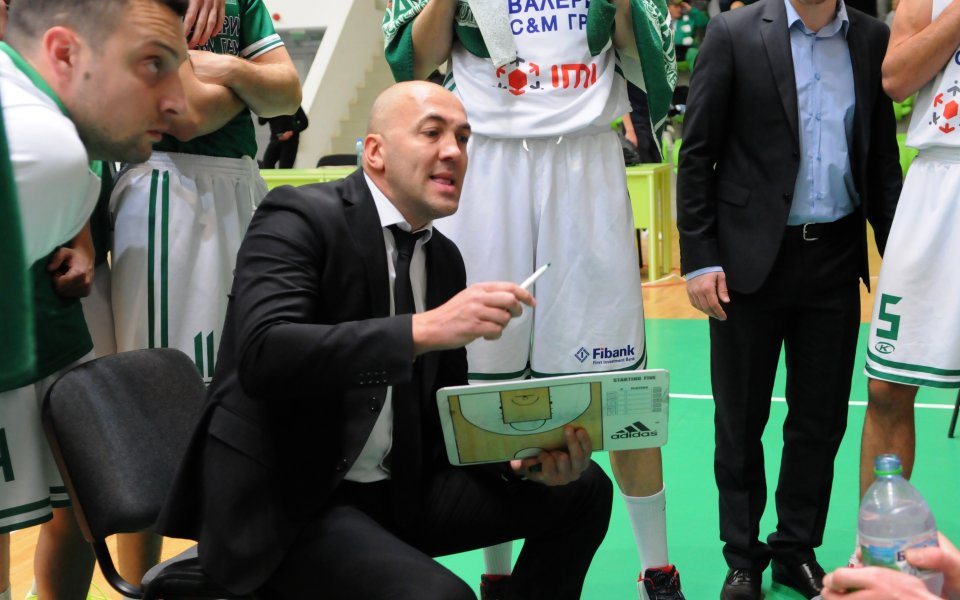 Баскетболният Балкан запазва треньора