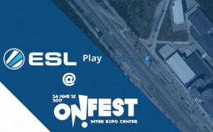 ESL Play на живо за първи път в България @ ON! Fest