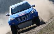 Hyundai off-road racing team в битка на офроуд ралито в Гърция