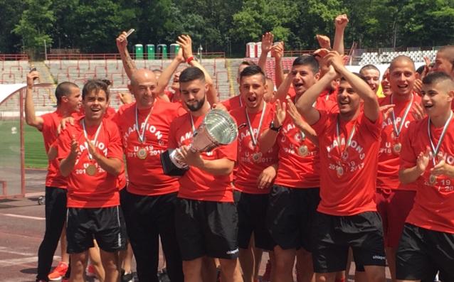 Шампионите от ЦСКА<strong> източник: ЦСКА</strong>