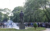 Протестът на феновете на Левски<strong> източник: LAP.bg</strong>