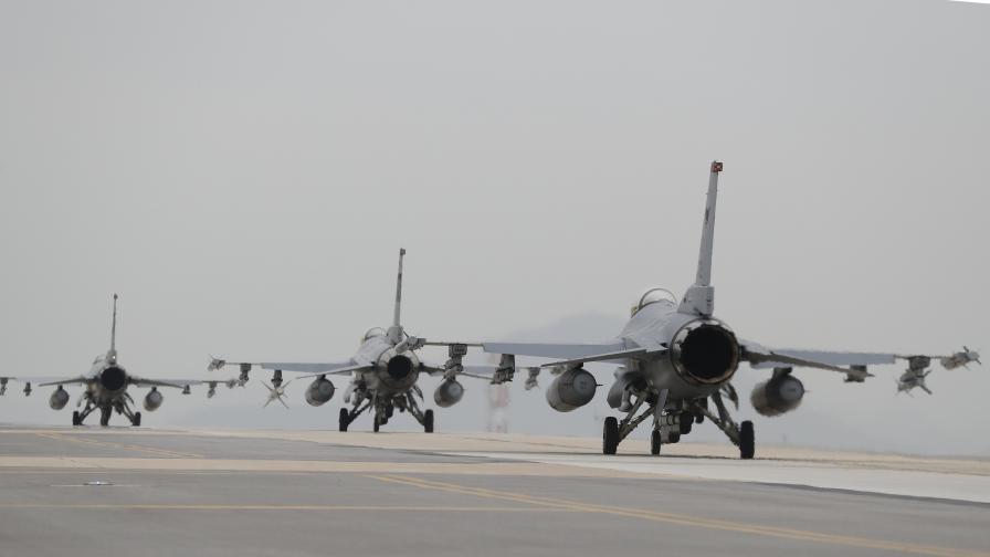 Изтребители F16