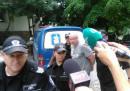 Ралф Сундберг на влизане в съда