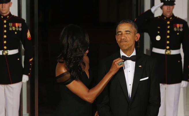 Мишел Обама заяви, че съпругът ѝ носел един и същ смокинг 8 години