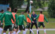 Официална тренировка на България в Минск<strong> източник: LAP.bg</strong>