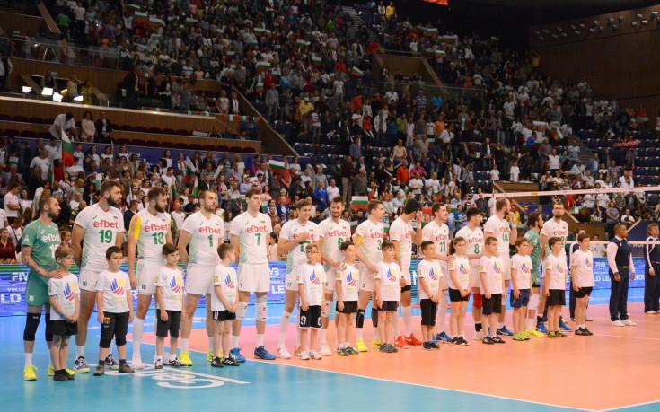 България победи световния шампион по волейбол!