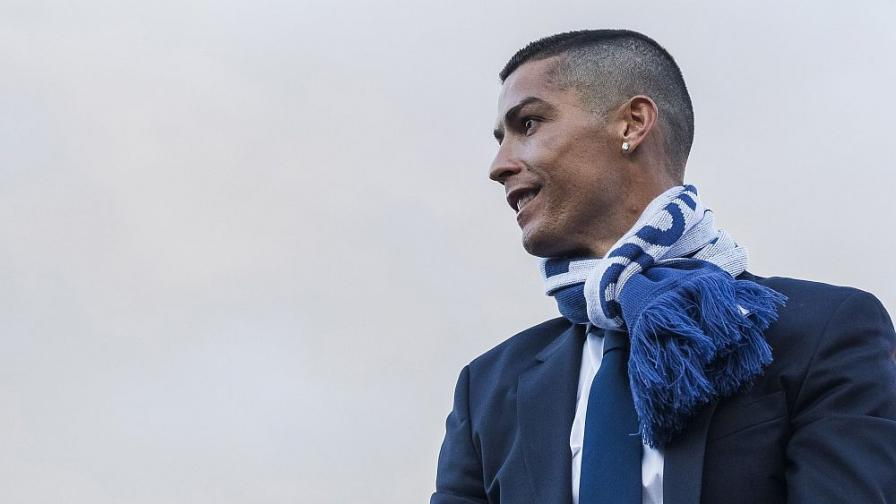 Звездата на Португалия и Реал Мадрид Кристиано Роналдо