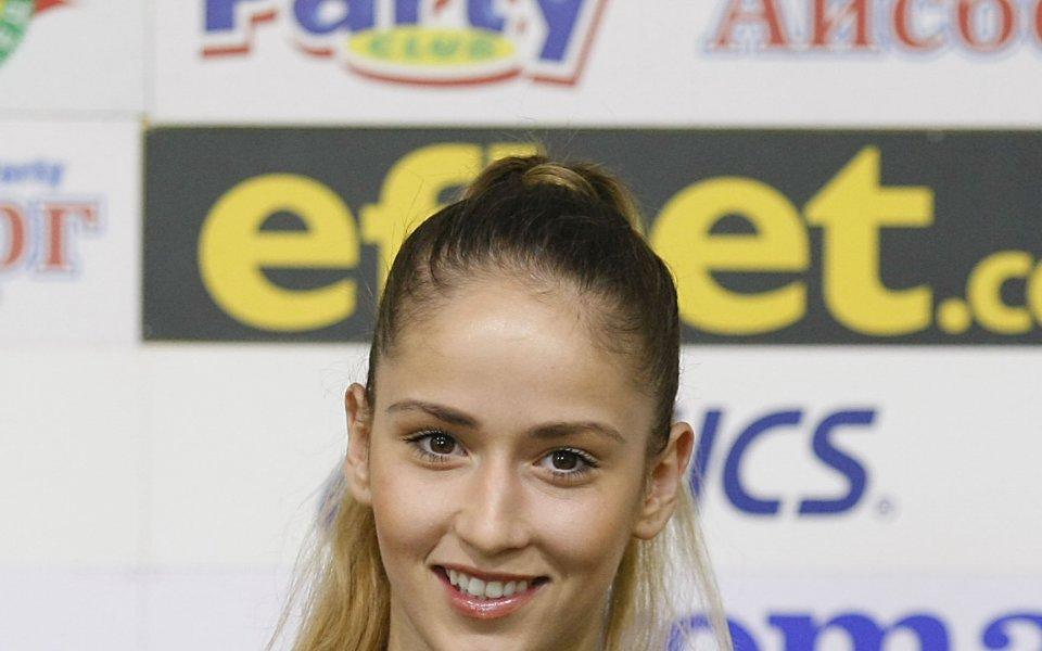 Владинова: Амбицирана съм да продължа да работя за художествената гимнастика