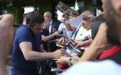 Футболните звезди, участници в благотворителния мач на Бербатов<strong> източник: LAP.bg</strong>