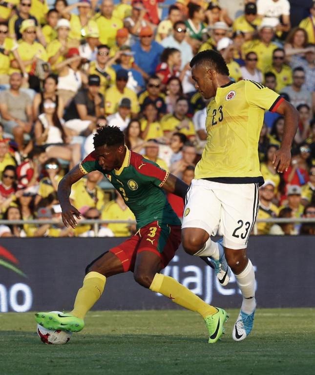 Камерун - Колумбия<strong> източник: БГНЕС</strong>