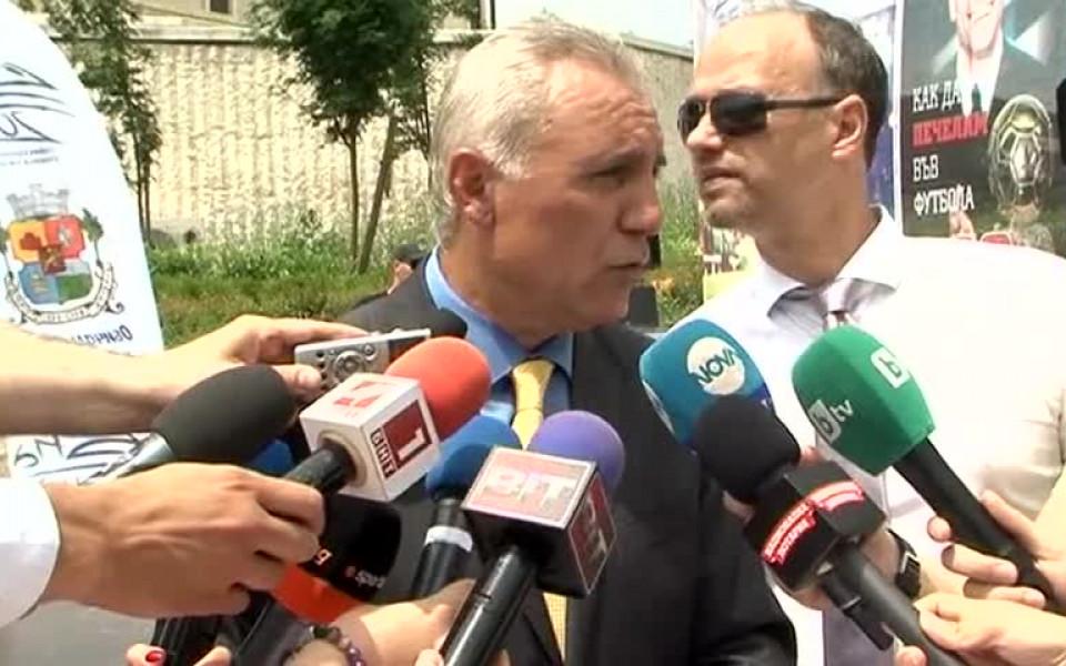Стоичков: Имаме лоби бар в УЕФА, лоби едва ли...