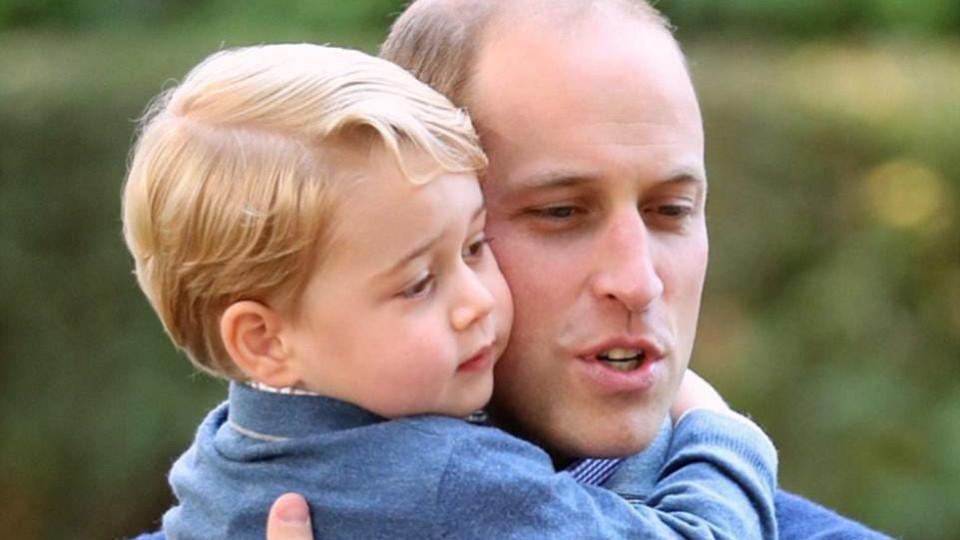 Всички татковци празнуват днес, принц Уилям също